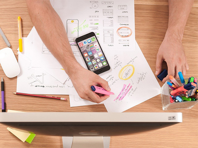 Produktinfo Webdesign